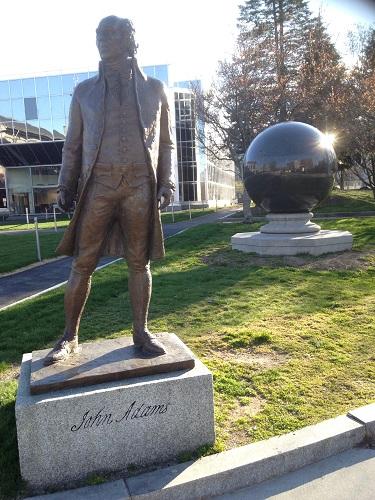 John Adams, Quincy MA